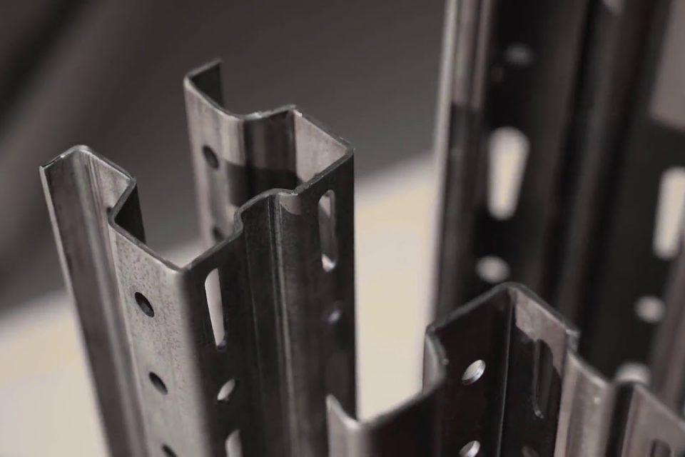 رول فرمینگ پایه راک قفسه فلزی